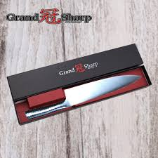 Carbon Kitchen Knives by Grandsharp 8 Inch Chef Knife German High Carbon Stainless Steel