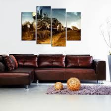 contemporary wall art steam train giclee canvas prints home decor