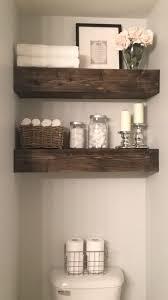 Bathroom Shelves Pinterest Best 25 Floating Shelves Bathroom Ideas On Pinterest Half Bath