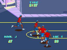 rap basketball proto super nintendo snes game
