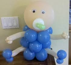 Home Balloon Decoration by Baby Shower Balloon Decoration Ideas