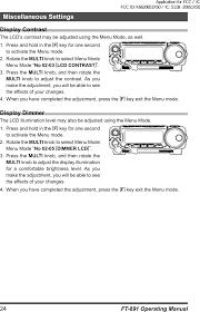 20651x50 hf 50 mhz amateur transceiver user manual ft