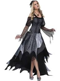 spider woman halloween costume gothic spider queen 123044