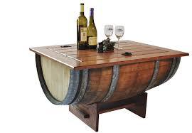 dining room unique design of whiskey barrel furniture for home