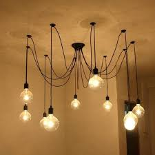 Bulb Light Fixture Diy Hanging Light Fixture Cool Hanging Light Fixtures Best Ideas
