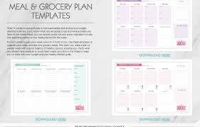 healthy eating planner template budget friendly ebook 2017 the healthy mummy books
