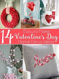 Valentines Day Decor Decoart Blog Crafts 14 Valentine U0027s Day Home Decor Ideas