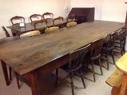 Large Dining Room Tables Large Antique Dining Table Antique Farmhouse Table