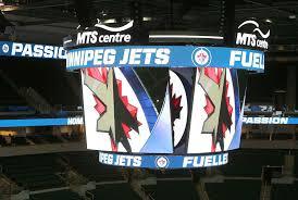 scoreboard will light it up if jets don u0027t winnipeg free press