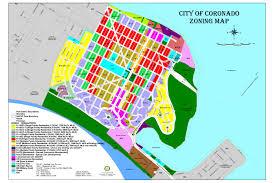 San Diego Neighborhood Map by Coronado Communities Coronado Island Realty