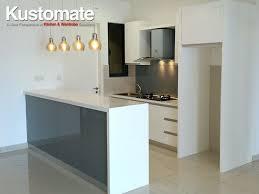 modern wet kitchen design white melamine kitchen cabinet design build for dry wet kitchen