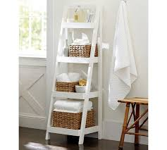 Bathroom Storage Ladder Bathroom Storage Ladder Storage Designs