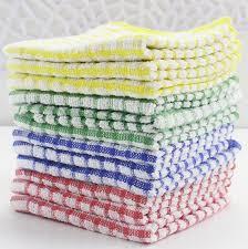 serviette de cuisine 100 coton avec éponge boucle terry torchon pas cher prix cuisine