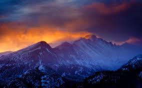 rocky mountain national park wallpapers nature landscape mountain sunset rocky mountain national park