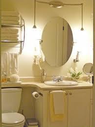 Bathroom Lighting And Mirrors Design by Bathroom Ideas Frameless Oval Home Depot Bathroom Mirrors Above
