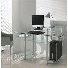bureau transparent verre bureau en verre design bureau design en verre transparent