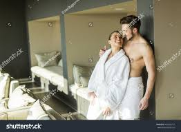 young couple relax enjoy room stock photo 469260575 shutterstock