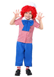 raggedy ann halloween makeup toddler raggedy andy costume
