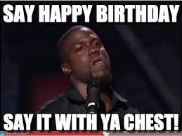 Happy Birthday To Me Meme - say happy birthday cool meme on memegen