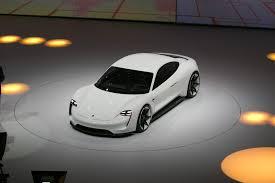 porsche electric mission e porsche mission e electric sports car headed for production