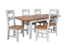 Dining Table And Six Chairs Grey 1 6m Ext Dining Table And Six Chairs Cambridge Home