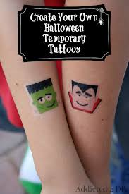 create your own halloween temporary tattoos jpg