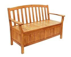 natural eucalyptus wooden storage garden bench wooden patio