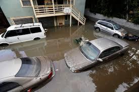 Backyard Parking Water Main Break Submerges Vehicles In Hollywood U2013 Orange County