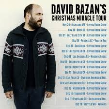 david bazan living room tour david bazan s christmas miracle tour undertow music collective