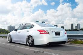 bagged nissan car bagged altima cs 16 u2013 concept one wheels usa