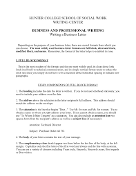Block Letter Style Format business letter format how to write a business letter