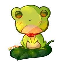 kawaii frog by dessineka on deviantart
