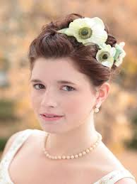 wedding flowers in hair diy wedding hair with flowers hgtv