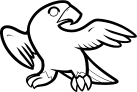 falcon bird coloring pages kids animal coloring pages