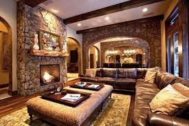 decorating with rustic living room ideas