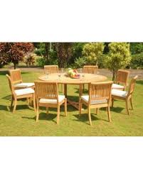 72 round outdoor dining table new shopping special teak dining set 8 seater 9 pc 72 round