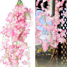 mixed artificial flower vine ivy garland party wedding home