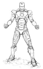 iron man coloring pages printable at mark 42 eson me