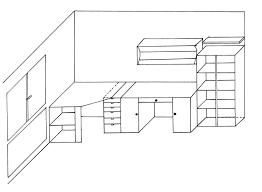 comment dessiner une chambre dessin chambre 3d chaios com