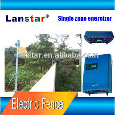 home intelligent security electric fence alarm system electric