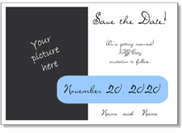 Free Save The Date Cards Incredible Announcement Free Printable Save The Date Postcards