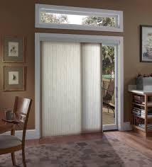 modern sliding glass door window treatment covering design idea