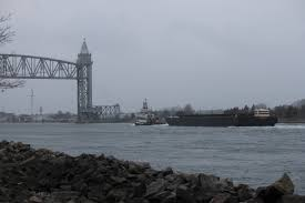early winter tow through the cape cod canal slideshow cape cod