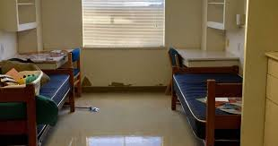 room transformation students arrive at prison cell dorm room transform it into a