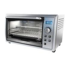 Black And Decker Infrawave Toaster Black U0026 Decker Kitchen Tools Digital Toaster Oven 6 Slice