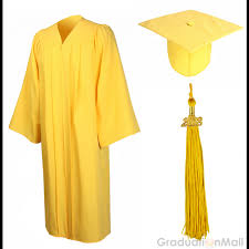 cap gown and tassel economy bachelor graduation cap gown tassel gold