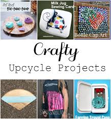 Upcycle Crafts - upcycled craft ideas do tell tuesday features crafting in