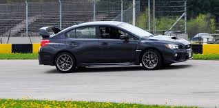 2015 subaru wrx track test review 2015 subaru wrx sti is brilliantly fast