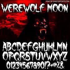 countdown to halloween u0026 inktober days 8 u0026 9 new fonts wolf