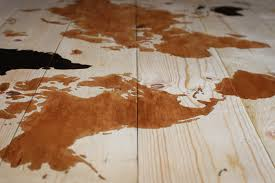 Diy World Map by Diy Worth A Try Display Your Travels Beautifully On This Wooden